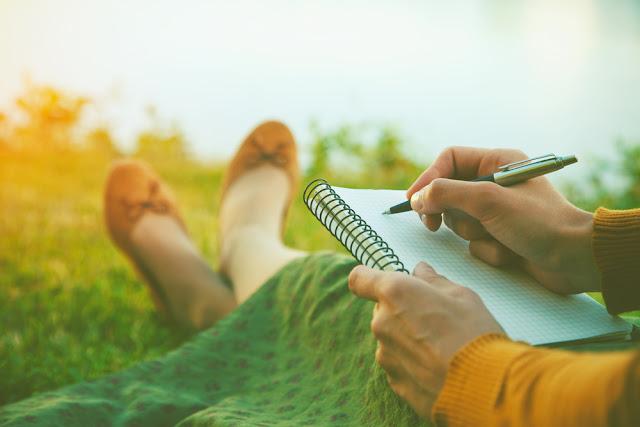 Skriv i naturen