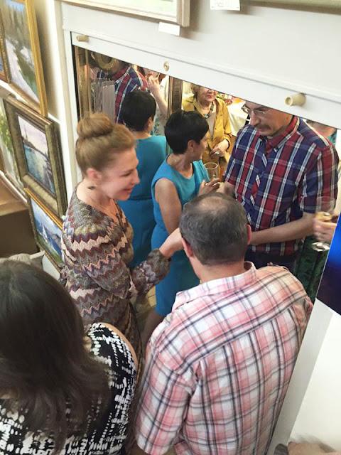 За год «Галерея Леже» стала популярным местом встречи художников и ценителей искусства. Сергиев Посад