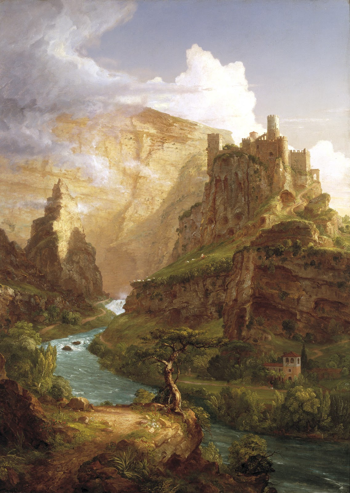 Thomas Cole The Fountain of Vaucluse  Dallas Museum of Art