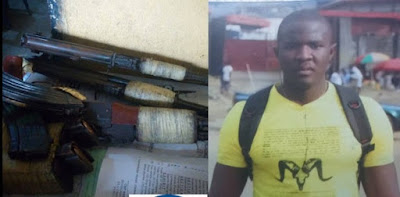Two Brothers Arrested For Armed Robbery In Port-Harcourt (Photos)