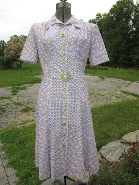 1940s reproduction dress for sale
