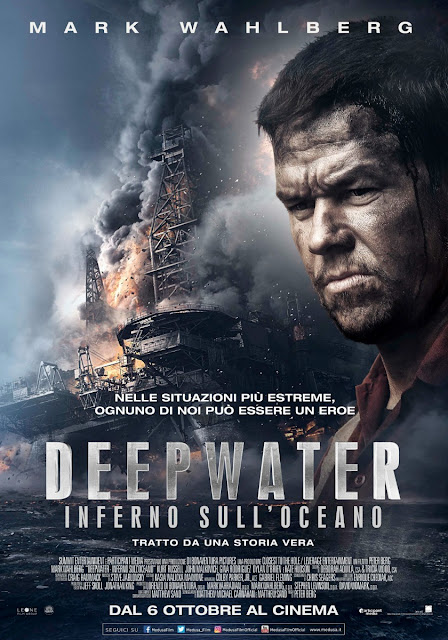 Deepwater: Inferno Sull'Oceano Peter Berg Mark Wahlberg