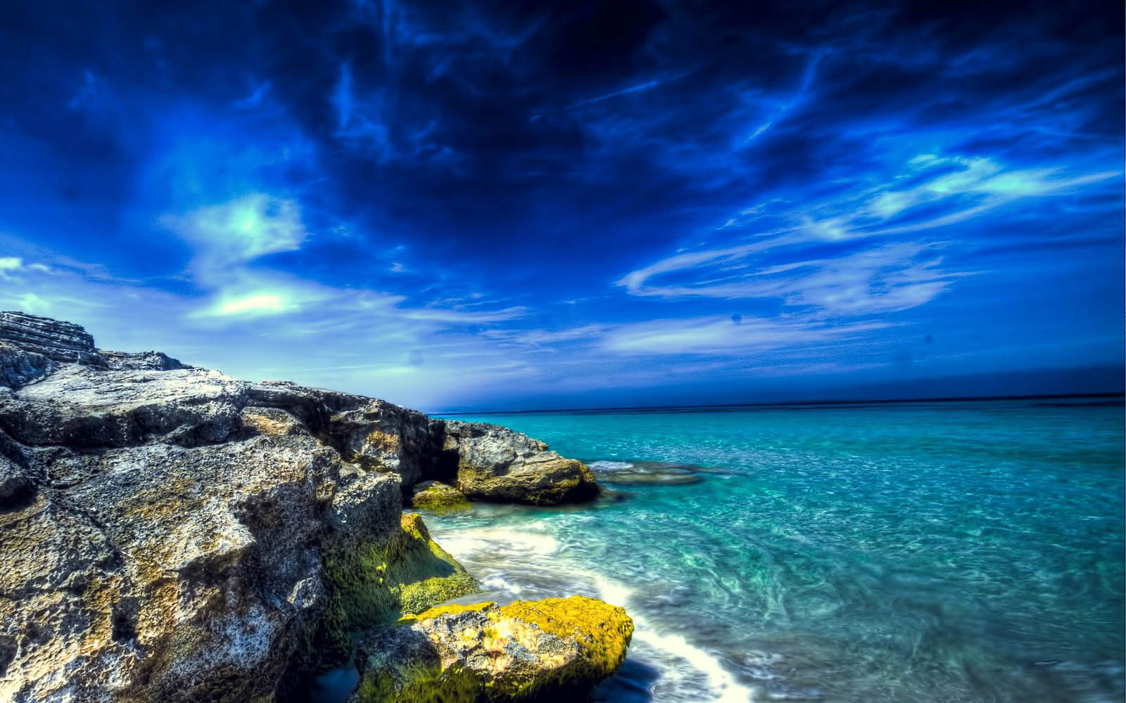 Wallpapers: Rocky Beach Desktop Wallpapers