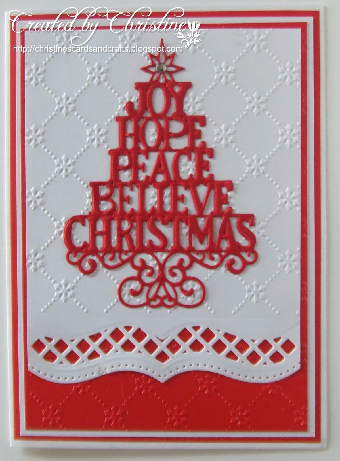 Xmas Card Designs For Cricut