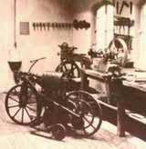 Motorcycle First Gasoline - Gottlieb Daimler