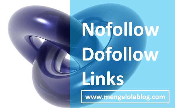 mengenal nofolow dan dofollow link