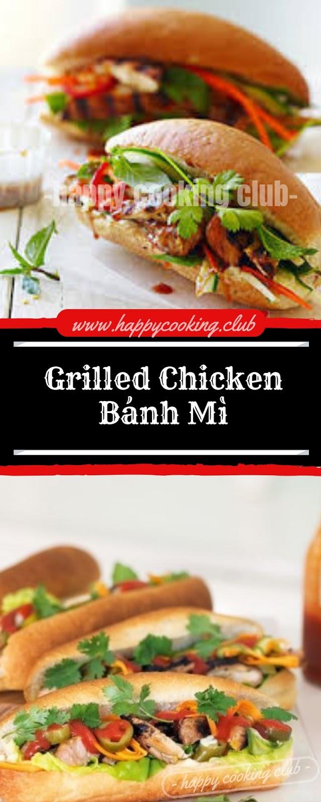 Grilled Chicken Bánh Mì