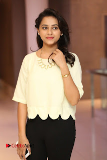 Actress Sri Divya Pictures in Jeans at Rayudu Movie Team Interview  0069