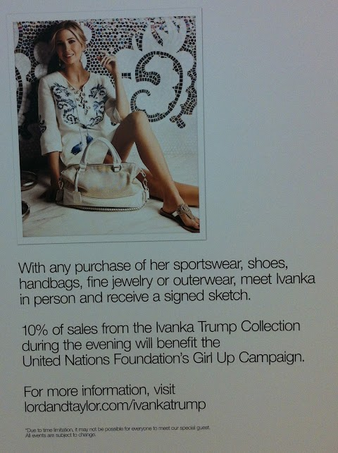 Ivanka Trump's Clothing Line