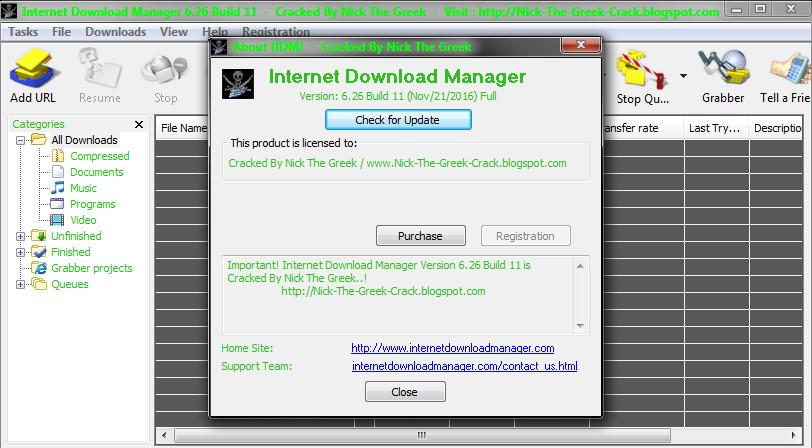 Nick The Greek Crack Internet Download Manager Idm 6