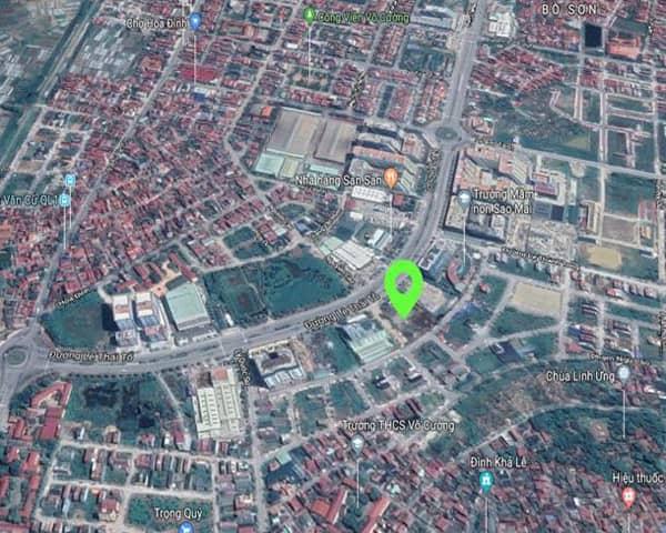 vị trí dự án Green Pearl Bắc Ninh