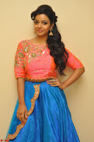 Nithya Shetty in Orange Choli at Kalamandir Foundation 7th anniversary Celebrations ~  Actress Galleries 006.JPG