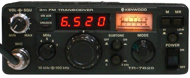 Kenwood TR-7625 Amateur Radio Transceiver