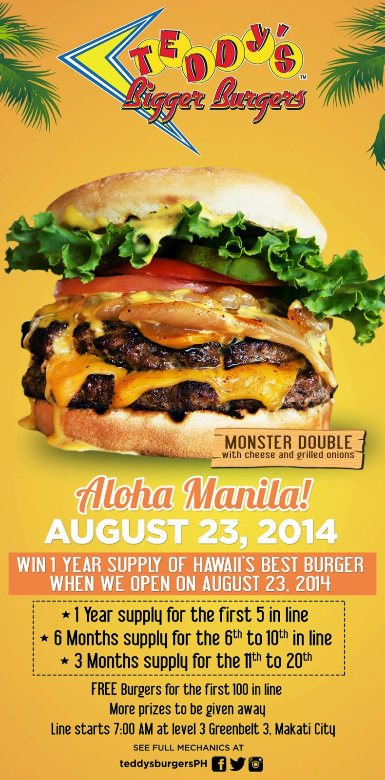 Say Aloha To American Girl S Newest Historical Character: Say Aloha To Teddy's Bigger Burgers Philippines!