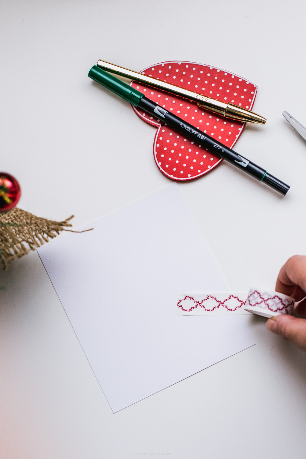 Christmas/Holiday Card DIY: what you need and process