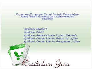 Download Program Excel Untuk Kemudahan Dalam Pembuatan Administrasi Sekolah