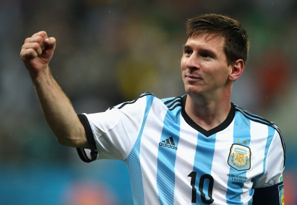 Messi of Argentina at Copa America