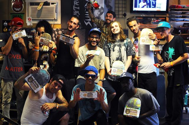 Skateboard contest orlando galactic g skateshop