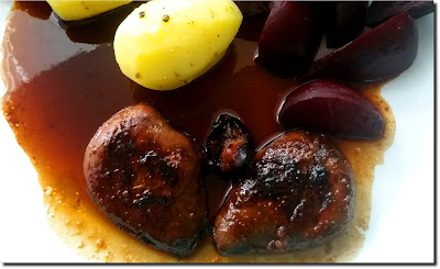 Pigeon Breasts with Pomegranate Molasses