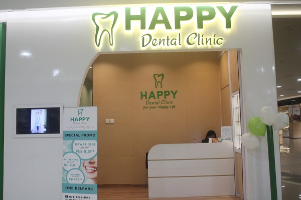 Perawatan Dan Edukasi Gigi di Happy Dental Clinic One Belpark Mall