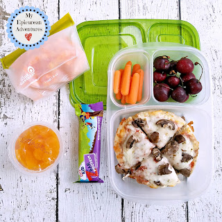 Lunch Box Fun 2015-16: Weeks #29-51 Super simple and super delicious Pizza lunch in @easylunchboxes #lunchboxfun
