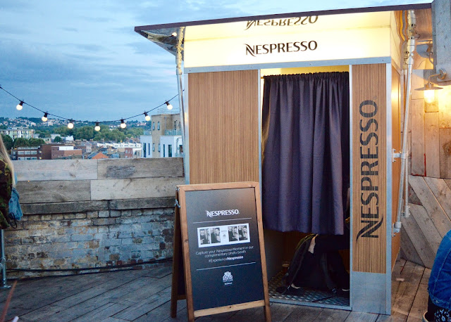 Nespresso Photobooth at Rooftop Film Club