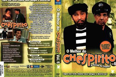 Série O Melhor do Chespirito Volume 6 DVD Capa