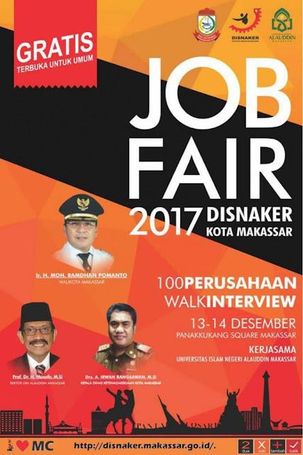 Job Fair Disnaker Kota Makassar Desember 2017