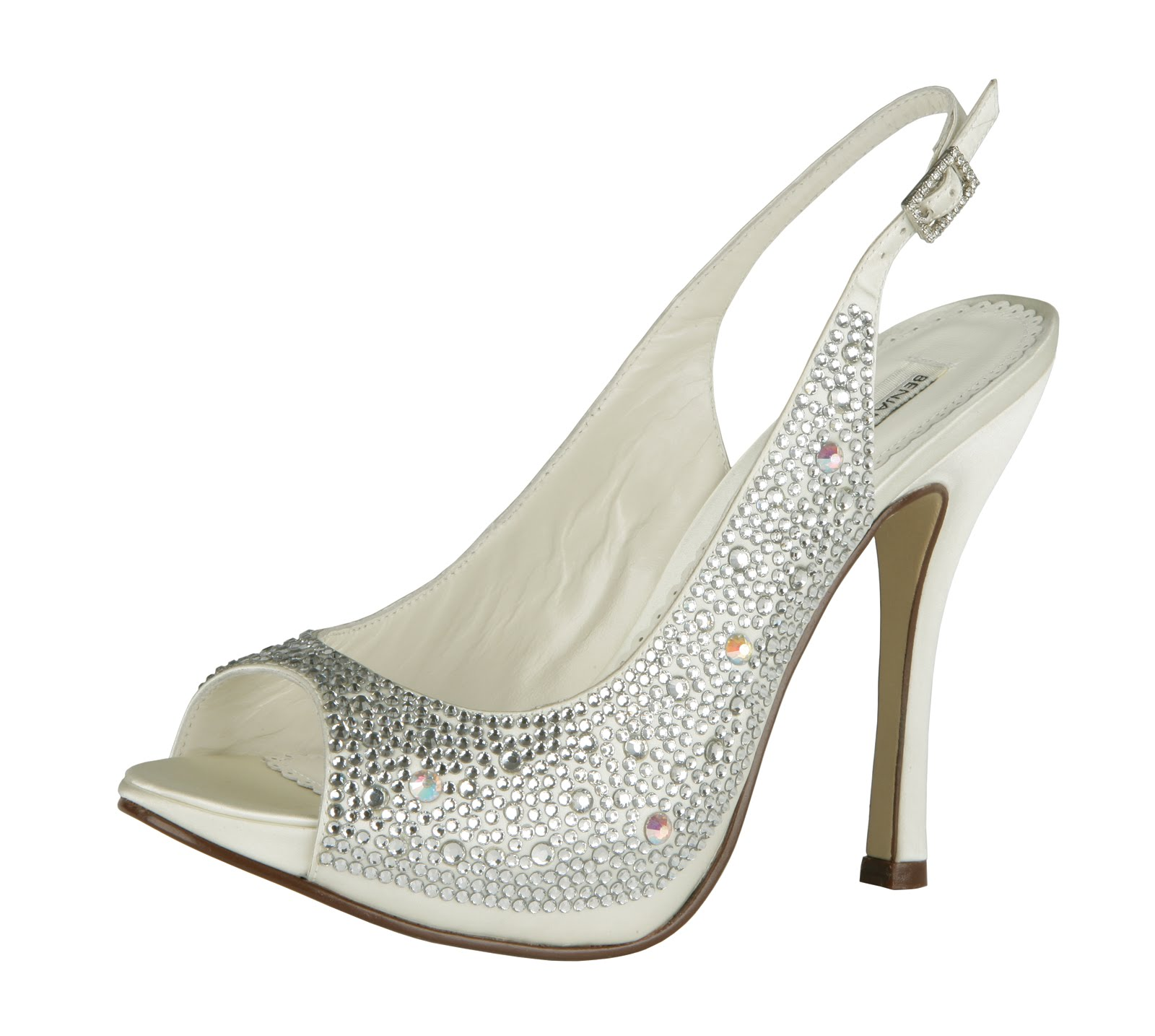 Everything But The Dress: Crystal Bling Wedding Shoes