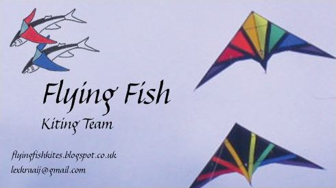 Flying fish kiting team flying fish business cards very pleased with how they turned out if you want one come find us at a festival this year and why not collect them try and get a business card from colourmoves