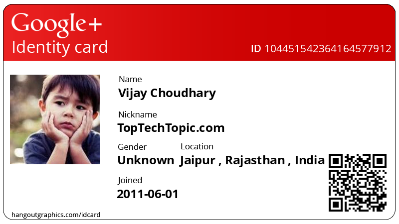 top tech topic how to create personal google id card online
