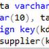 Pemrograman SQL Part (4) - Menambahkan Foreign Key pada Tabel