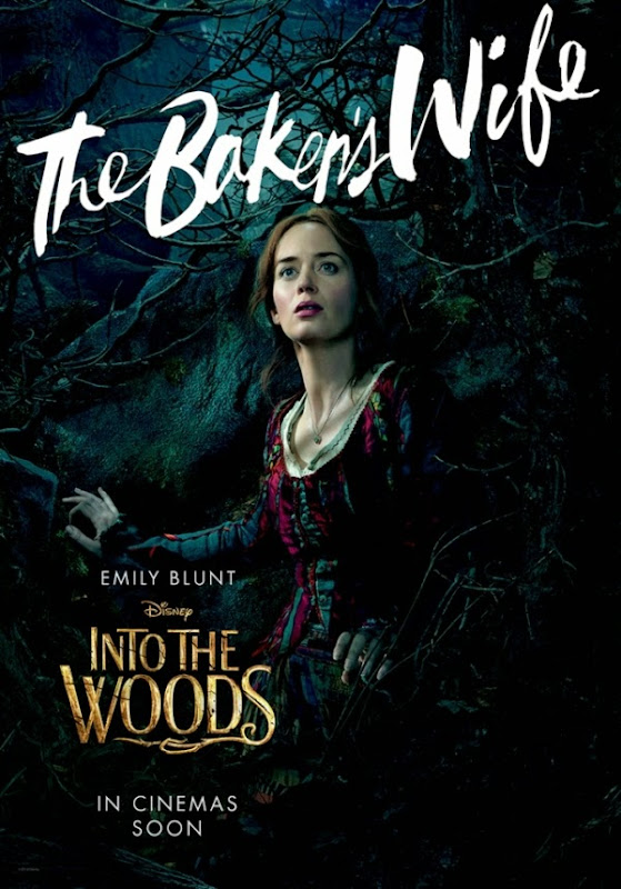 Into the Woods Baker's Wife movie poster