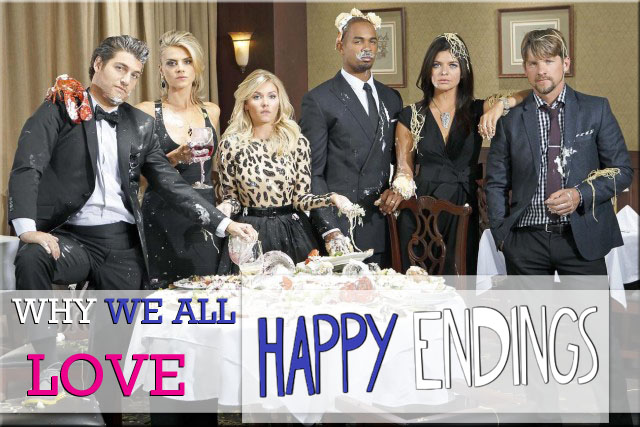 Know Your Show: Happy Endings #AtoZChallenge