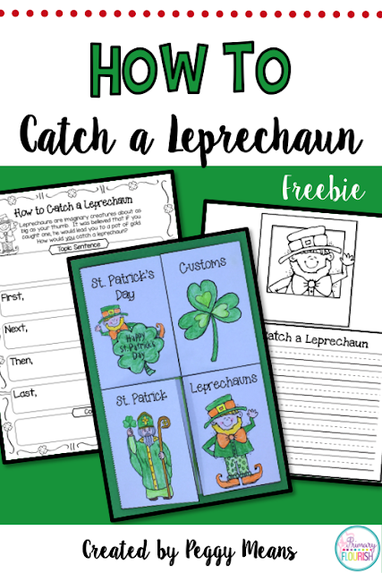 How To Writing: How to Catch a Leprechaun - just in time for St. Patrick's Day!  This pack has everything you need to lead your little writers through the writing process in this fun genre! These little imaginary creatures provide a highly motivating reason to write.