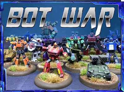 Bot War is a 8mm (z scale) skirmish game set in the mid 1980s
