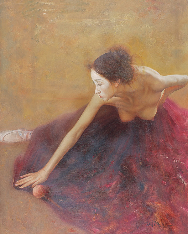 Xing Jianjian [邢健健] 1959 - Chinese Figurative painter