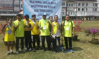 Maesyaroh Sumbang Medali Emas Di Ajang Peparda II
