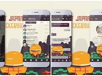 Free Download BBM MOD (Mi-Japan Landmark) v3.3.1.21 Apk Terbaru
