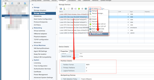 VMware: vSAN 6.6 not showing all available disks when attempting to claim...
