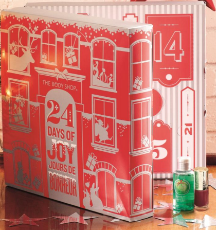 the body shop 24 days of joy advent calendar i am. Black Bedroom Furniture Sets. Home Design Ideas
