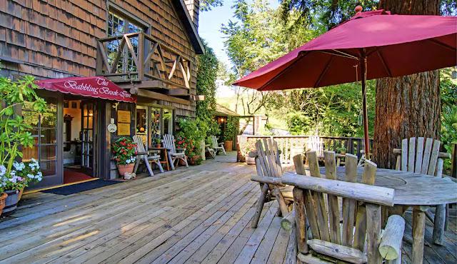 Hotel The Babbling Brook Inn em Santa Cruz