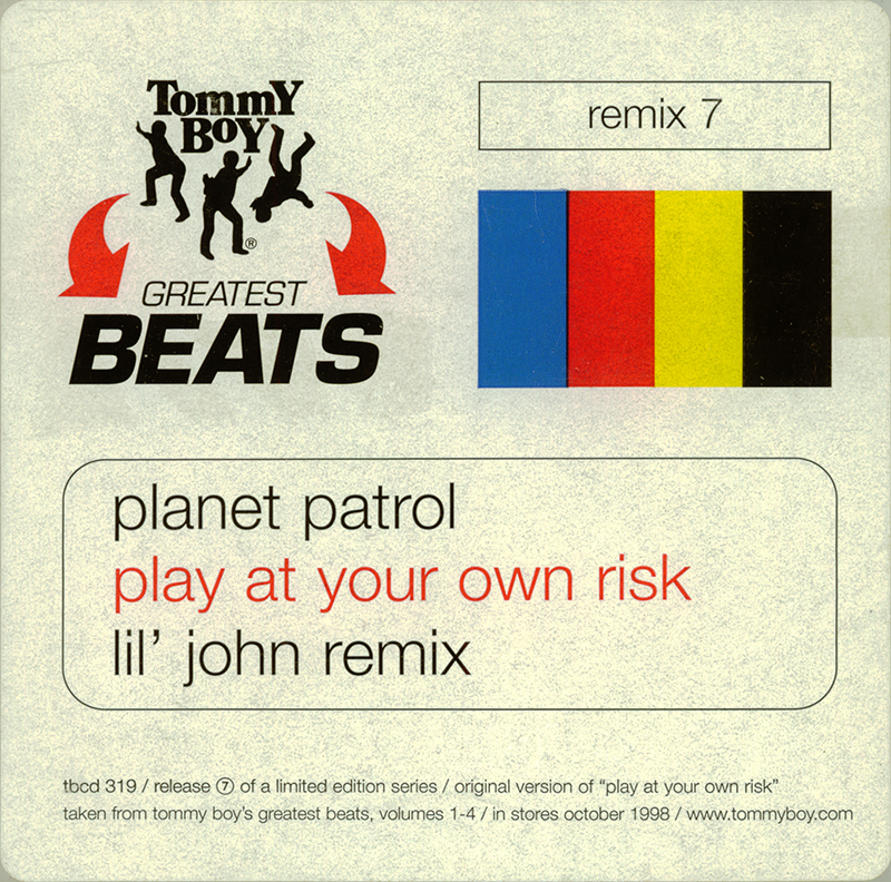 Promo, Import, Retail CD Singles & Albums: Planet Patrol