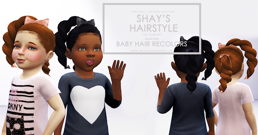 Shay's Hairstyle for Toddler Girls