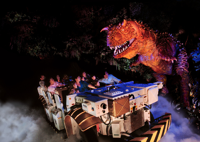 DINOSAUR no Animal Kingdom em Orlando