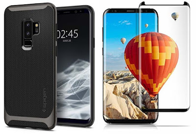 Samsung Galaxy S9 and S9 Plus Best Tempered Glass Screen Protector Cases and Covers