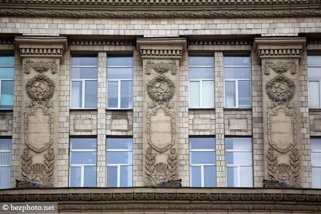 cталинский ампир в архитектуре