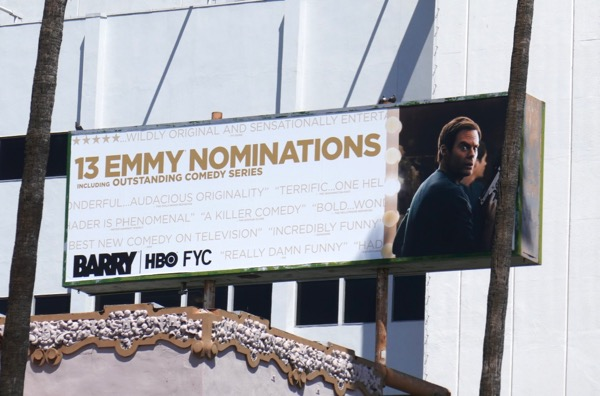 Barry season 1 Emmy nominee billboard