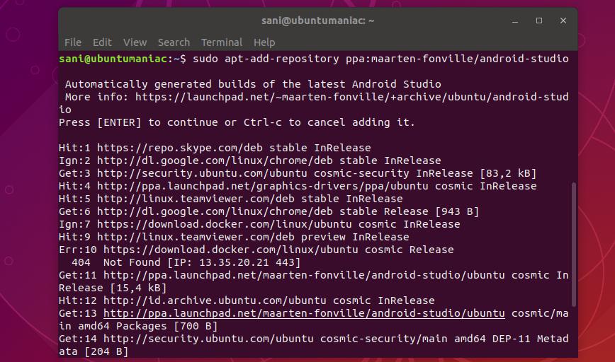 android emulator freezes ubuntu