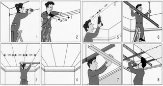 pemasangan plafond
